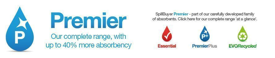 SpillBuyer Premier Absorbents Range