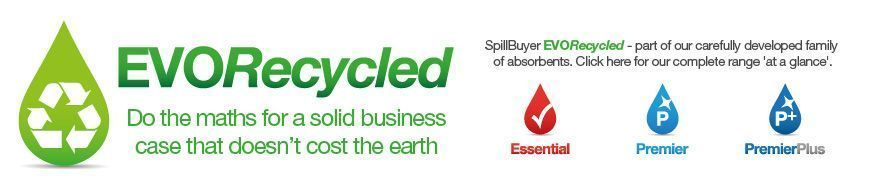 SpillBuyer EVO Recycled Absorbents Range